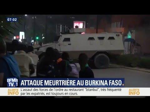 Une attaque dans un restaurant à Ouagadougou, au Burkina Faso, fait au moins 17 morts