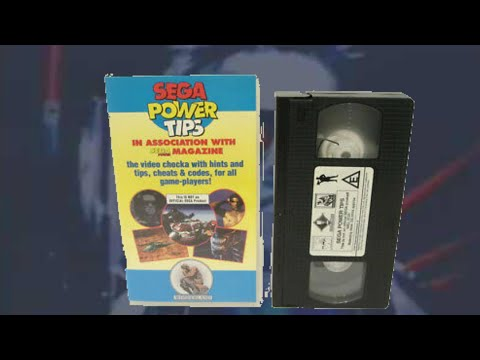 Sega Power Tips (VHS Video 1992 - hints and tips, cheats & codes)