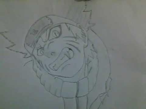 Como Dibujar A Naruto Kiuby Rasengan By Dibujosdbznaruto