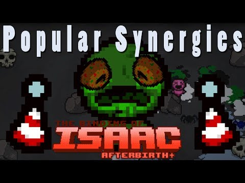 The Binding of Isaac Afterbirth Plus | Colorful Personality! | Popular Synergies!