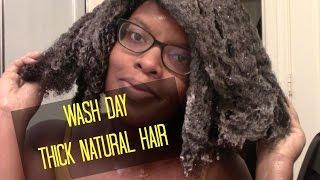 Natural Hair | Wash Day Thick 4b/4c Hair