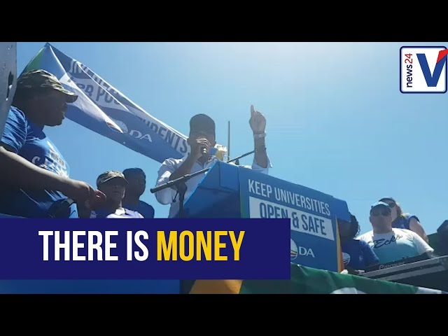 Government has money for higer education - Maimane