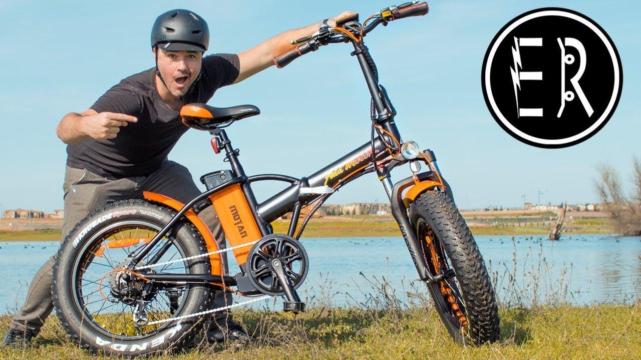 coolest fastest fat tire folding electric bike in 2018 addmotor motan m150 p7 youtube. Black Bedroom Furniture Sets. Home Design Ideas