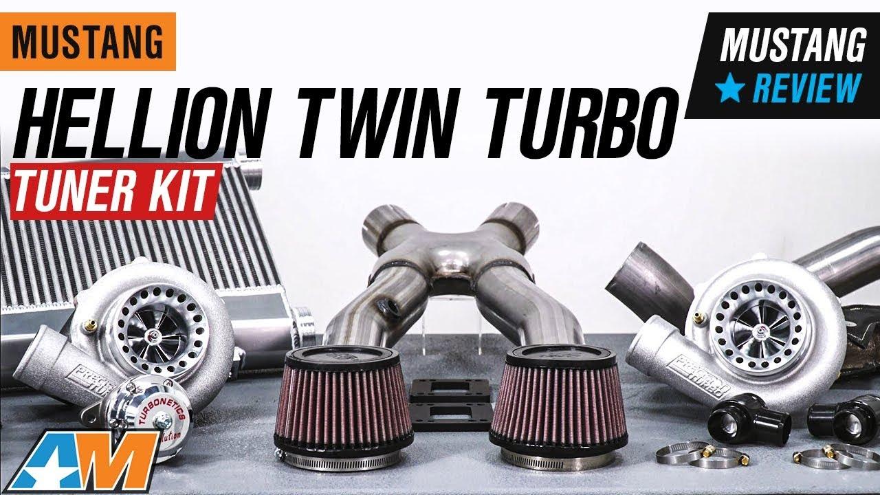 Hellion Twin Turbo Tuner Kit (96-04 V8)