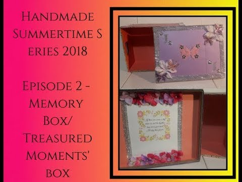 DIY Decor Tutorial, Dollar Tree Michaels Walmart, HS '18 Ep 2, Memory Box