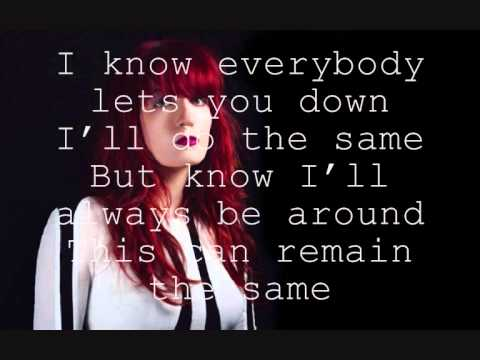 Remain Nameless (LYRICS)  -Florence and the machine