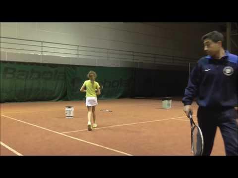 Стратегия игры. в теннисе