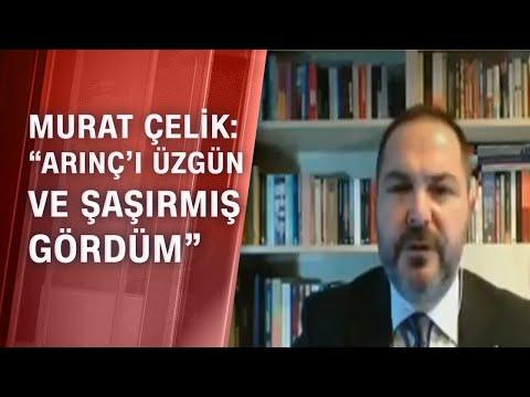 Murat Çelik, Bülent Arınç ile görüşmesinin ayrıntılarını aktardı - Tarafsız Bölge