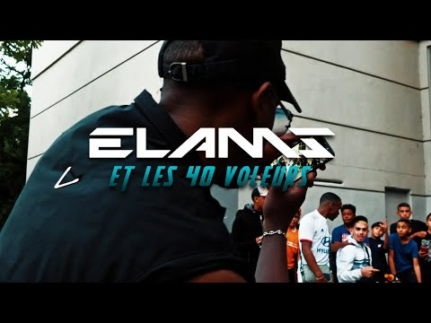 Смотреть клип Elams Et Les 40 Voleurs - Épisode 2 Lyon Avec Miro Starf, Sasso, Big Ben, Pouya Alz, Iska