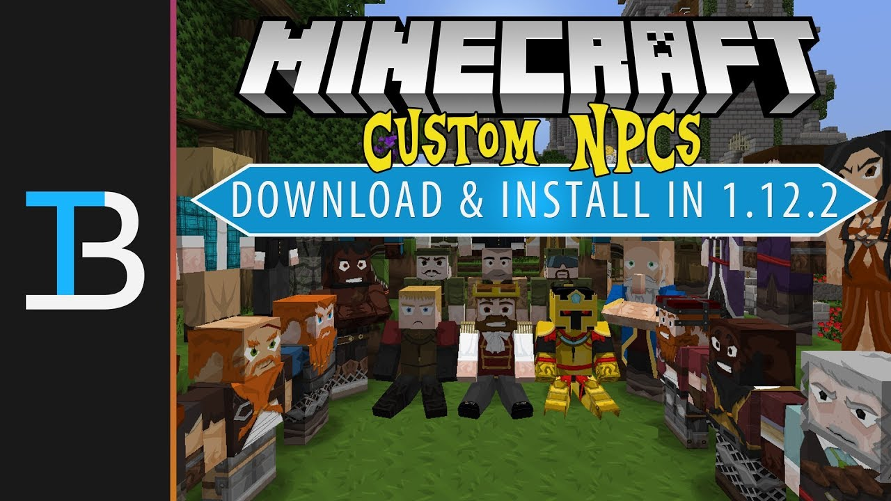 How To Download & Install Custom NPCs in Minecraft 1 12 2