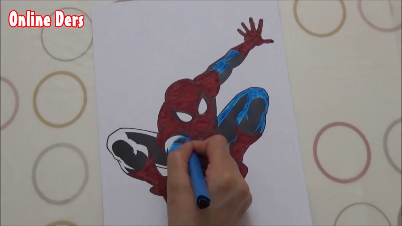 Spiderman Boyama Youtube