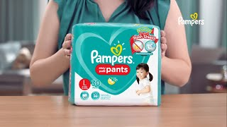 Choose NEW Pampers Pants with 2-in-1 Rash Shield
