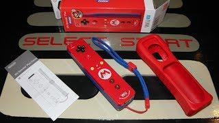 Unboxing Mario Wii Remote Plus