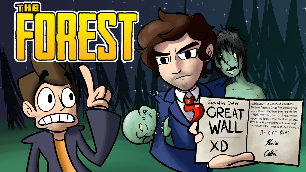 Download The Forest Funny Moments With Friends - BUILD A WALL!!!