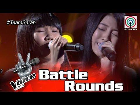 The Voice Teens Philippines Battle Round: Chloe vs. Jona - Sana'y Maghintay Ang Walang Hanggan