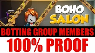 ROBLOX 100% PROOF BOHO SALON USES BOTS