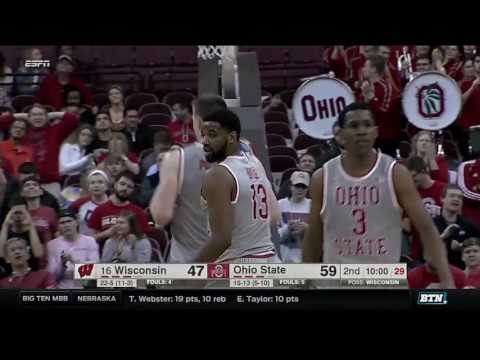 Wisconsin at Ohio State - Men's Basketball Highlights