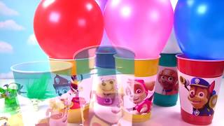 paw patrol toy surprise balloon cups limited edition metallic figures blind bags mashems
