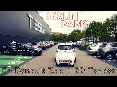 L'EP-Tender en road-trip entre Berlin et Paris