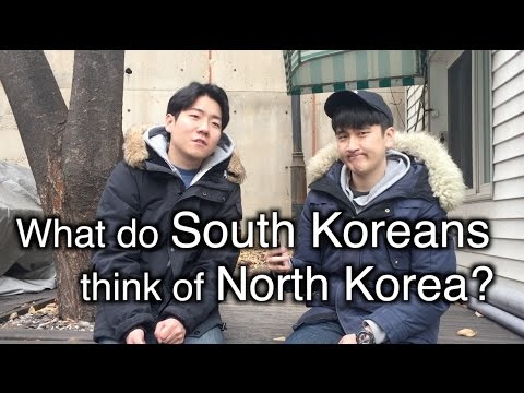 What do South Koreans think of North Korea?