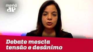 Enquanto adversários debatem na Globo, Bolsonaro concede entrevista na Record | Vera Magalhães