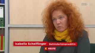 ORF Kaernten heute Hürden für Behinderte barrierefreiheit