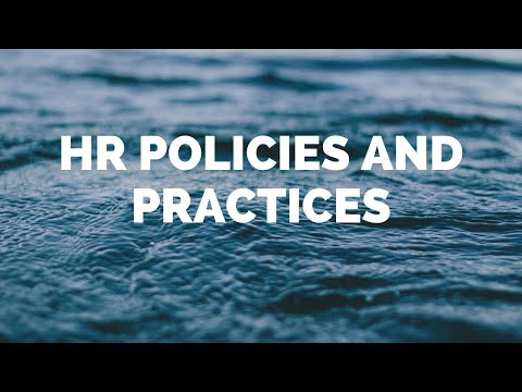 HR POLICIES AND