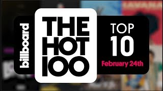 Early Release! Billboard Hot 100 Top 10 March 3rd 2018 Countdown | Official