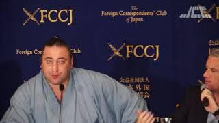 JCCテレビすべて http://jcc.jp/ 日本外国特派員協会での会見 #栃ノ心 #...
