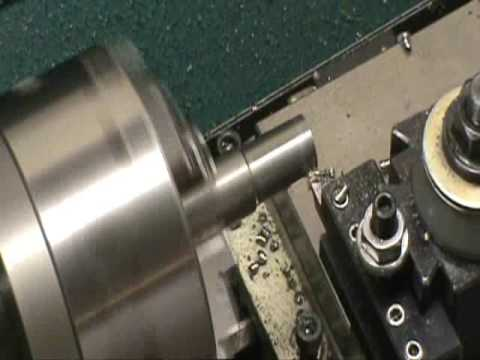 Metal Lathe Turning Steel Youtube
