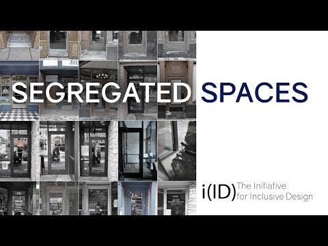 Segregated Spaces - Initiative for Inclusive Design Lecture