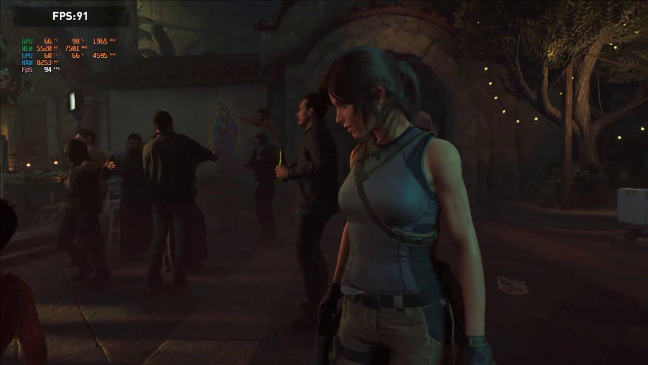 RTX 2060 / i5-9600K / Shadow of the Tomb Raider : BenchMark - Highest Preset