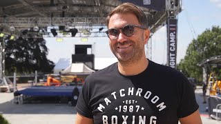 Eddie Hearn - 'Anthony Joshua Will Fight In 2020! So Ready To Fight He'd Box In My Back Garden'