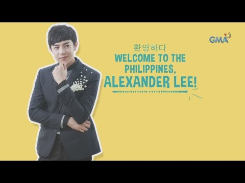 'My Korean Jagiya': Welcome to the Philippines, Alexander Lee (with English subtitles)