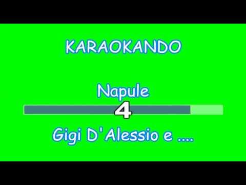 Karaoke Italiano - Nupule - Gigi D'Alessio, Gigi Finizio , Sal Da Vinci - Lucio Dalla ( Testo )
