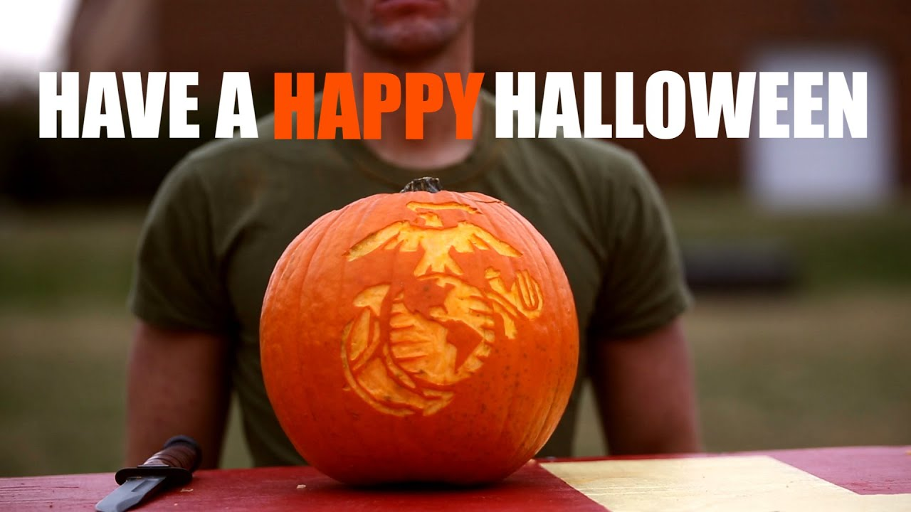 How to carve a pumpkin like marine youtube