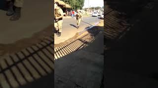 Jhoninho reage à prisão e acaba baleado na perna