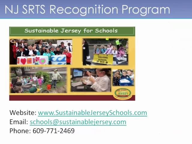 NJ SRTS Recognition Program