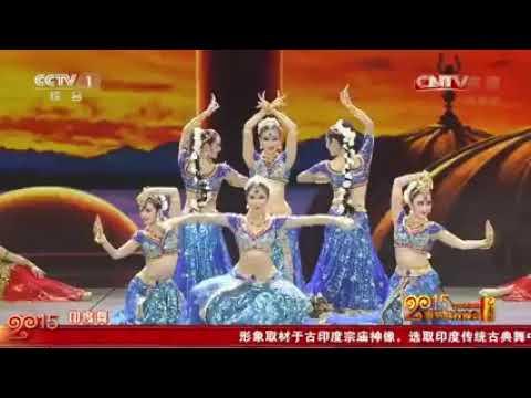2015央视春晚舞蹈《丝路霓裳》Silk Road Dance By 中国东方演艺集团 高清