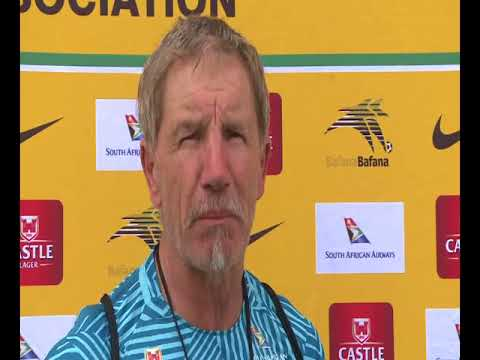Bafana Bafana coach Stuart Baxter discusses the Cape Verde FIFA World Cup qualifier