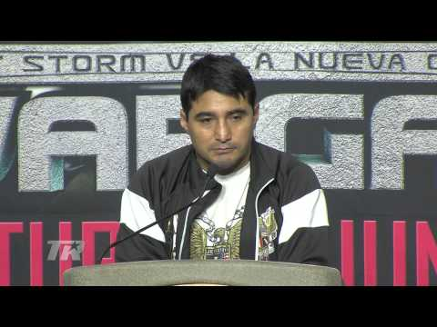 Bradley vs. Vargas: Morales Furious Over Bad Call - Post-Fight Interview