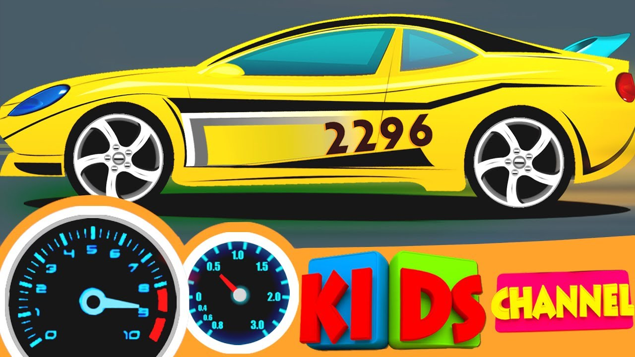 Racing cars | car race video for kids | sports cars