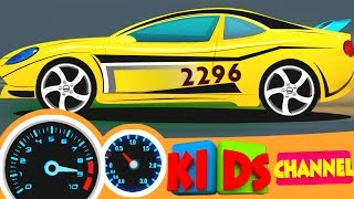 Racing cars   car race video for kids   sports cars