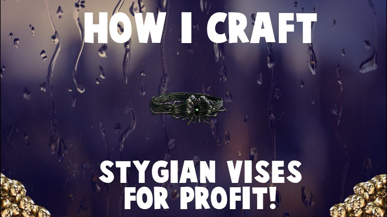 How I Craft Stygian Vise Belts with Fossils 🔥 (Betrayal League Crafting  Guide)