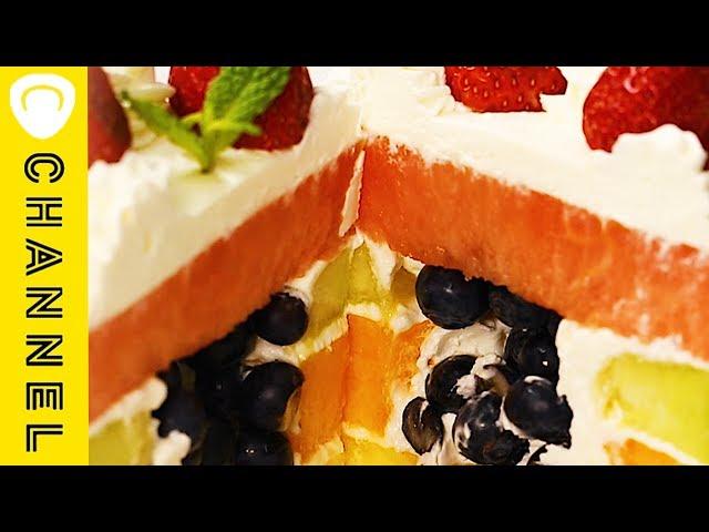 切ってびっくり!これぞ!フルーツケーキ♡
