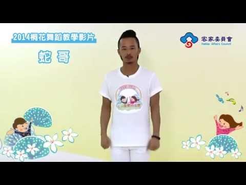 2014桐花舞蹈教學影片─蛇哥(分解教學篇)