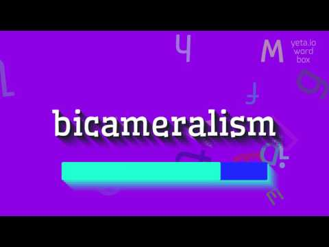 "How to say ""bicameralism""! (High Quality Voices)"