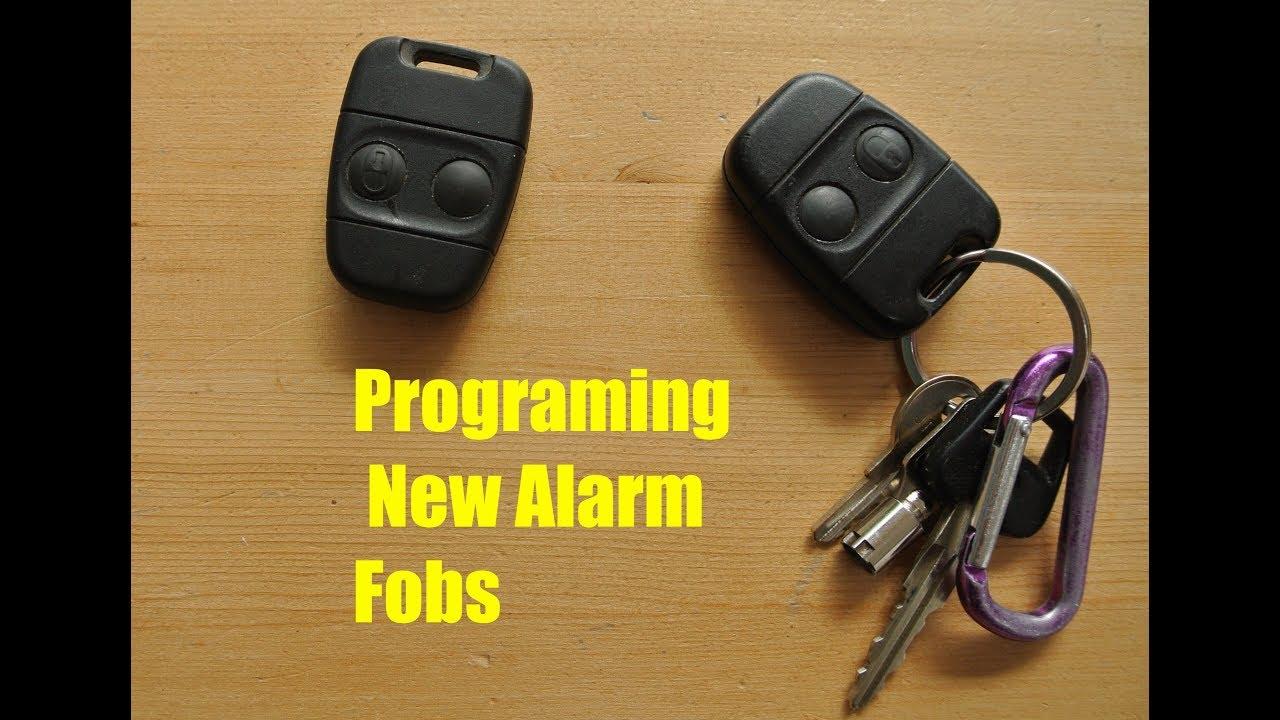 Programming New Keys Fobs - Landrover Defender TD5