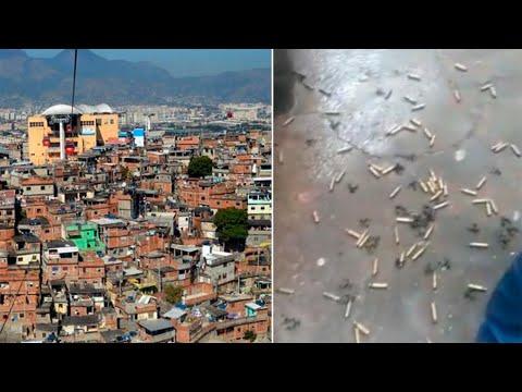 """""""Cenas De Guerra"""": Operação No Complexo Do Alemão Gera Intenso Tiroteio; Relatos Citam Mortos"""