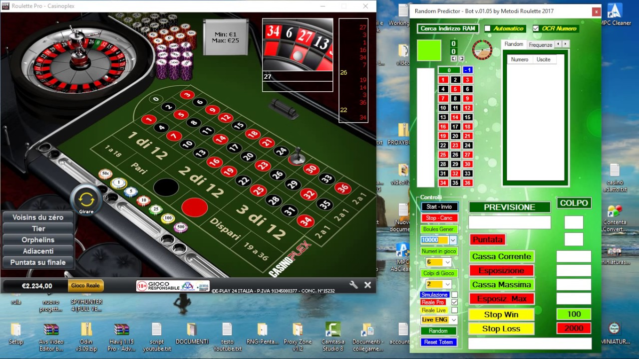 Free roulette bot v1.2 bingo deposit no online real